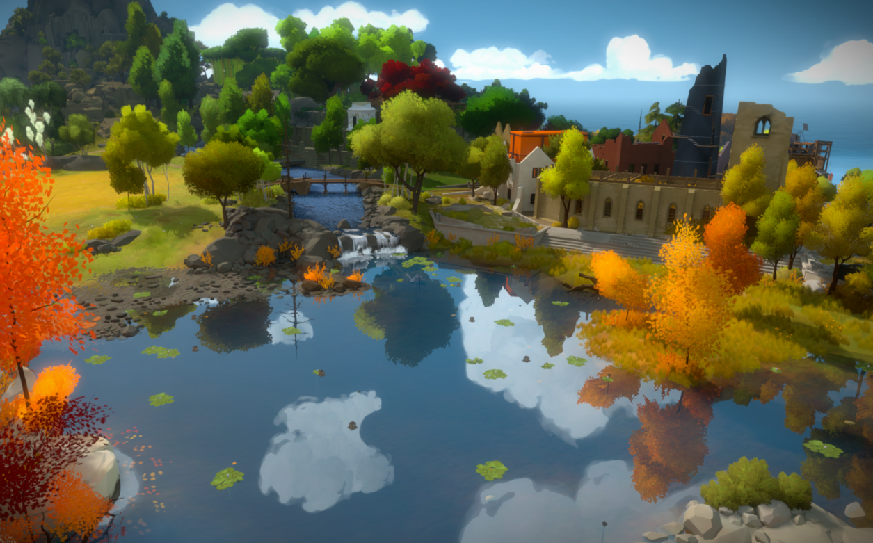 Training a deep learning model to play The Witness